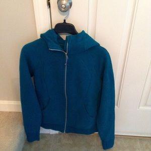 Lululemon scuba hoodie light cotton fleece